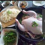 さくら - 料理写真:丸鶏鍋