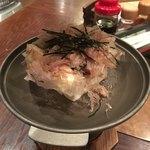 お食事処 安楽喜 - 豆腐チーズ(600円)火を入れる前