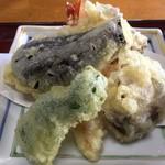 吾一 - 天ぷらです。