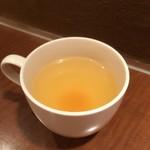 オムライス専門店 シード - ランチのスープ
