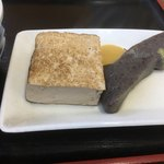 三よし - 豆腐とコンニャク