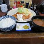 76269024 - 貝柱ホタテフライと海老ミックス定食                       ¥1680