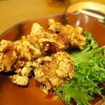釜飯と炭と酒 やま蔵 - 鶏トロ唐揚げ?