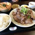 すみせん - ランチNO.1  牛タン焼き定食  1100円
