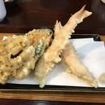 狭山 翁 - 天ぷら盛り合わせ