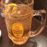 広東料理 東田 - ドラゴンハイボール(紹興酒のハイボール)