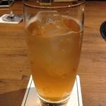 焼肉 うしみつ - 梅酒ソーダ割