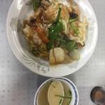 ドンドン飯店 - 中華丼  見た目は美味しそう!食べても美味しい!