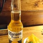 メキシポン - コロナビールとお通し
