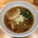 佐々木製麺所 - 料理写真:「醤油そば」750円