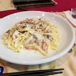 ラス - ポルチーニ茸のクリームソース(生パスタ)