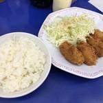 来来亭 - カキフライ定食