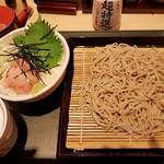 国産二八蕎麦 蕎香 - 【2017/11】ねぎとろセット