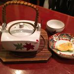 和馳走 蔵屋 - 松茸の土瓶蒸し
