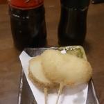 淡路島ええとこどり - 玉ねぎと山芋の天ぷら