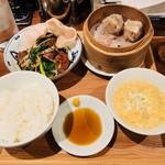 新潟 三宝亭 東京ラボ - 夜の定食 一品+450円