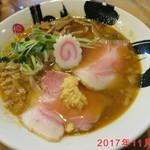 彩色ラーメンきんせい - 11月限定 焙煎味噌煮干しラーメン \830