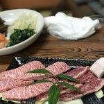 焼肉みよし - 米沢牛 上カルビ&米沢牛ハラミ