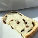 焼きたて食パン専門店 一本堂 - 片割れは、お腹に(笑)