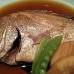食彩酒菜 おか田 - レンコ鯛の煮付け