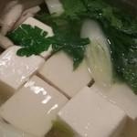 食彩酒菜 おか田 - 湯豆腐