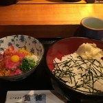 鮨健 - ばくだんランチ1100円