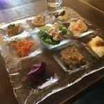 KINARI - 前菜の盛り合わせ