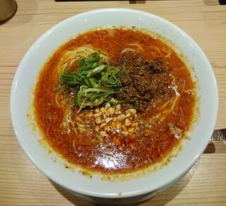 京紫灯花繚乱 -   京山椒担々麺 860円