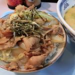 76285325 - 肉丼(小盛り)430円