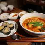 Korean Dining ハラペコ食堂 - ☆ラッポギ定食(●^o^●)☆