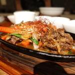 Korean Dining ハラペコ食堂 - ☆肉肉しいプルコギ(#^.^#)☆
