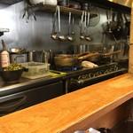 麺屋時茂 - 名物極狭キッチン