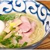Kikuya - 料理写真:純鶏そば+味玉 800+100円 どこか和風なテイストを持った美味なる一杯です♪