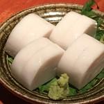 蕎麦 酒肴 京鴨 椿 - 板わさ