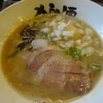 狼煙 - 鬼海(豚骨魚介)半熟味付煮卵入り