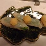 明日香 - ふぐコース 寿司