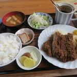 喜楽亭 - 料理写真:チキンカツ定食