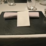 リストランテ カノフィーロ - 2017年11月11日のテーブルセット