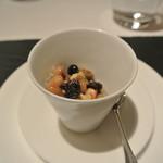 リストランテ カノフィーロ - 昆布森産ムール貝と豆の煮込み