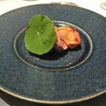 リストランテ カノフィーロ - 滝川産合鴨と柿、アニス