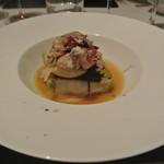 リストランテ カノフィーロ - 三元豚と白菜の温かいテリーヌ