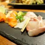 マスカクラブ - 料理写真:シナノユキマスのアップ