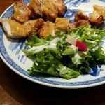 うず潮屋 - 桜島鶏もも味噌漬け炙り焼き