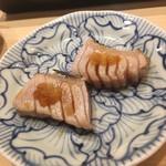 不動前 すし 岩澤 - メジマグロの炙り