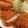 とんかつ やまいち - 料理写真:特ロース牡蠣フライ