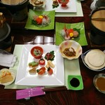 野の花焼山荘 - 料理写真: