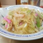 グラバー亭 - 皿うどん太麺