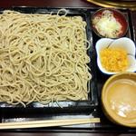 紅葉川 - ごま汁せいろ(大盛)