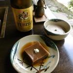 奥丹 - 胡麻豆腐ととろろ