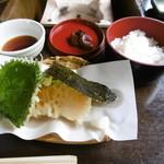 奥丹 - 天ぷらとご飯